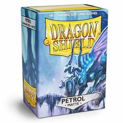 Dragon Shield Matte Petrol Standard Size Card Sleeves (100ct)