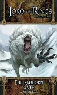 The Lord of the Rings LCG: The Redhorn Gate Adventure Pack