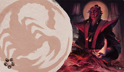 Legend of the Five Rings LCG: Master of Secrets Playmat (Scorpion Clan)