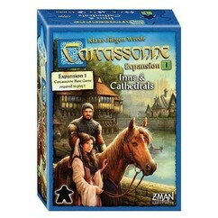 Carcassonne: Expansion 1 - Inns & Cathedrals (New Edition)