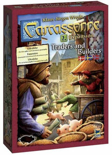 Carcassonne: Expansion 2 - Traders & Builders Expansion (New Edition)