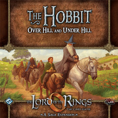 The Lord of the Rings LCG: The Hobbit: Over Hill & Under Hill Saga Expansion