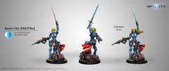 Infinity: PanOceania - Jeanne d'Arc (Multi Rifle)