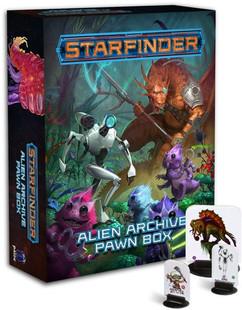Starfinder RPG: Pawns Alien Archive Pawn Box