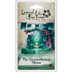 Legend of the Five Rings LCG: The Chrysanthemum Throne Dynasty Pack (On Sale)