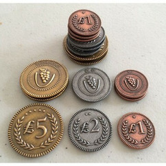Viticulture & Tuscany: Metal Lira Coins