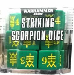 Warhammer 40K: Striking Scorpion Dice (20ct)