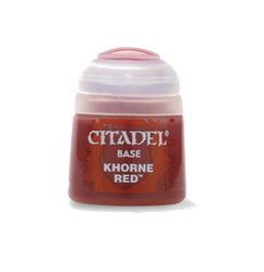 Citadel Base Paint: Khorne Red (12ml)