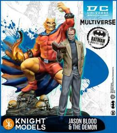 Batman Miniature Game: The Demon & Jason Blood 2nd Edition (DC Mulitverse) (Resin)
