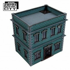 28mm Gothic City: South Point Tenament 1