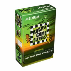 Board Game Sleeves: Non-Glare - Medium (50ct)