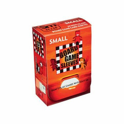 Board Game Sleeves: Non-Glare - Small (50ct)