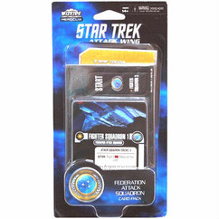 Star Trek Attack Wing: Federation Attack Squadron - Card Pack