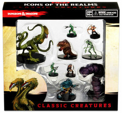 Dungeons & Dragons Fantasy Miniatures: Icons of the Realms Classic Creatures Box Set