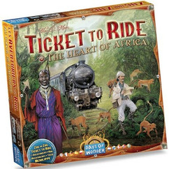 Ticket to Ride: The Heart of Africa Map Collection 3