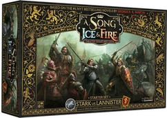A Song of Ice & Fire: Tabletop Miniatures Game Starter Set - Stark vs Lannister