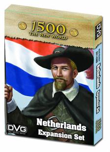 1500 The New World: Netherlands Expansion Set