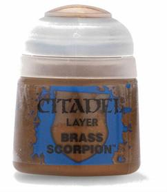 Citadel Layer Paint: Brass Scorpion (12ml)