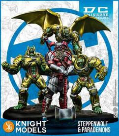 DC Universe Miniature Game: Steppenwolf & Parademons (Resin)