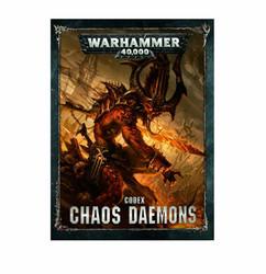 Warhammer 40K: Codex - Chaos Daemons (Hardcover)