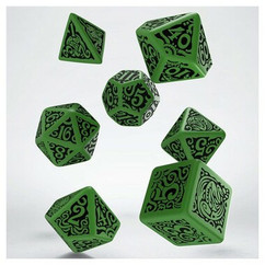 Call of Cthulhu: The Outer Gods - Cthulhu Dice Set (7ct)