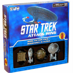 Star Trek Attack Wing: Borg Faction Pack - Resistance Is Futile
