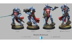 Infinity: PanOceania Knights Hospitaller