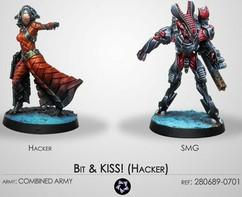 Infinity: Combined Army: Bit & KISS! (Hacker)