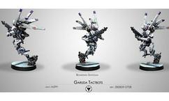 Infinity: ALEPH Garuda Tactbots (Boarding Shotgun)