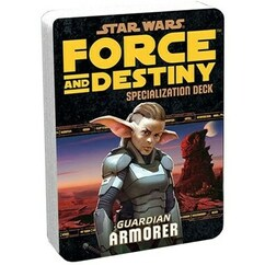 Star Wars: Force and Destiny RPG - Armorer Specialization Deck