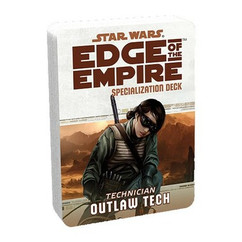 Star Wars: Edge of the Empire RPG - Outlaw Tech Specialization Deck