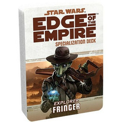 Star Wars: Edge of the Empire RPG - Fringer Specialization Deck