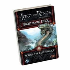 The Lord of the Rings LCG: Across the Ettenmoors Nightmare Deck