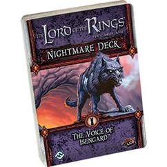 The Lord of the Rings LCG: The Voice of Isengard Nightmare Deck