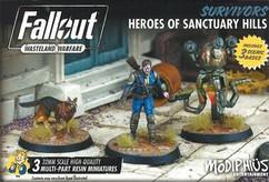 Fallout: Wasteland Warfare - Survivors Heroes of Sanctuary Hills