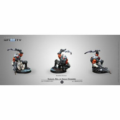 Infinity: Combined Army - Kurgat, Reg. of Assault Engineers (Boarding Shotgun)