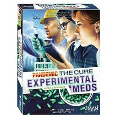 Pandemic: The Cure - Experimental Meds Super-Expansion
