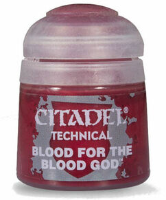 Citadel Technical Paint: Blood For The Blood God (12ml)