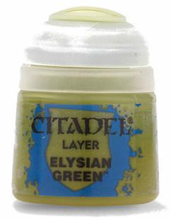 Citadel Layer Paint: Elysian Green (12ml)