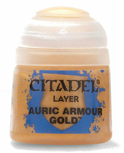 Citadel Layer Paint: Auric Armour Gold (12ml)