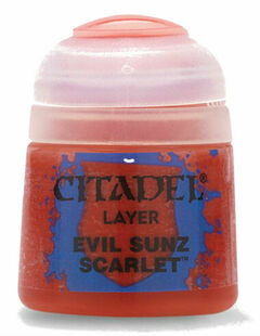 Citadel Layer Paint: Evil Sunz Scarlet (12ml)