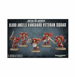 Warhammer 40K: Adeptus Astartes - Blood Angels Vanguard Veteran Squad