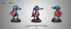 Infinity: PanOceania Father-Officer Gabriele de Fersen (Hacker)
