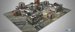 Infinity: Kurage Station Scenery Pack