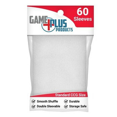 Standard Size White Card Sleeves (60ct)