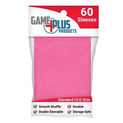 Standard Size Pink Card Sleeves (60ct)