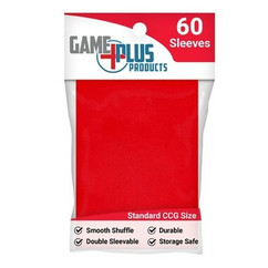 Standard Size Red Card Sleeves (60ct)