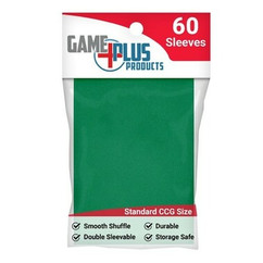 Standard Size Green Card Sleeves (60ct)
