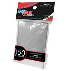 Tarot Board Game Size Clear Card Sleeves (50ct)