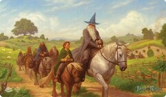 The Lord of the Rings LCG: The Hobbit - Playmat